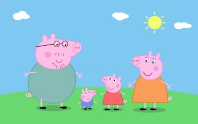 Dibujos Animados De Pepa Pig familia