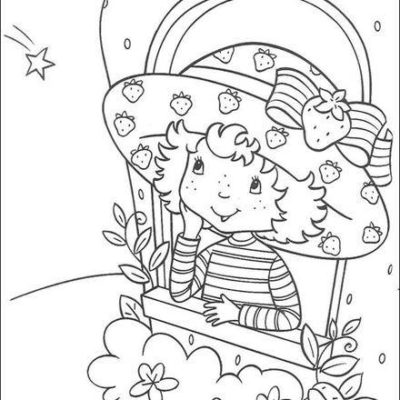 Dibujos De Muñecas Para Colorear fresita