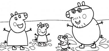 Dibujos De Peppa Pig En Español Gratis familia
