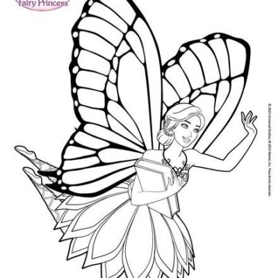 Dibujos Para Colorear De Muñecas Gratis hada