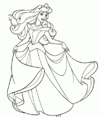 Dibujos Para Colorear De Muñecas Gratis princesa