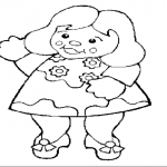 Dibujos Para Colorear De Muñecas Gratis Para Niñas