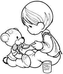 imagenes de muñecas para pintar peluche