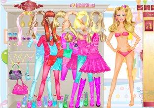 imagenes de muñecas para vestir barbie