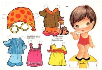 imagenes de muñecas para vestir niña