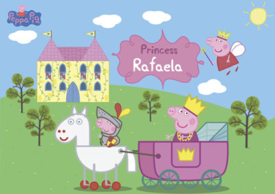 imagenes de peppa pig princesa carruaje