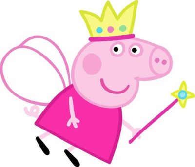 imagenes de peppa pig princesa y hada
