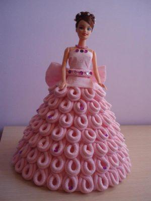 imagenes de vestidos de muñecas creativo