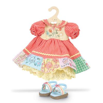 imagenes de vestidos de muñecas infantil