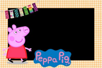 tarjetas de cumpleaños de peppa pig cuadro