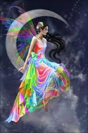 Imágenes de hadas enamoradas de los colores
