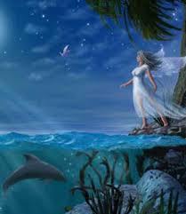 Imágenes de hadas enamoradas del agua