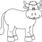 Lindas Imágenes Infantiles De Animales Para Colorear