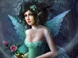 Imagenes de hadas hermosas con rosas