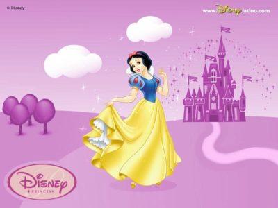 dibujos de blancanieves castillo