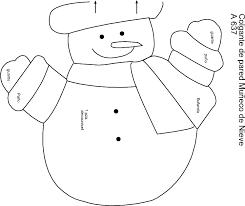 muñecos de navidad moldes gratis 2016