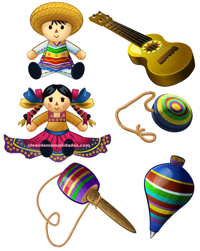 Juguetes tradicionales mexicanos imgenes  Imgenes de Muecas