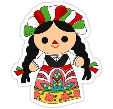 munecas-de-trapo-mexicanas-caricatura