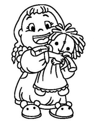Fotos de muñecas para whatsapp para colorear