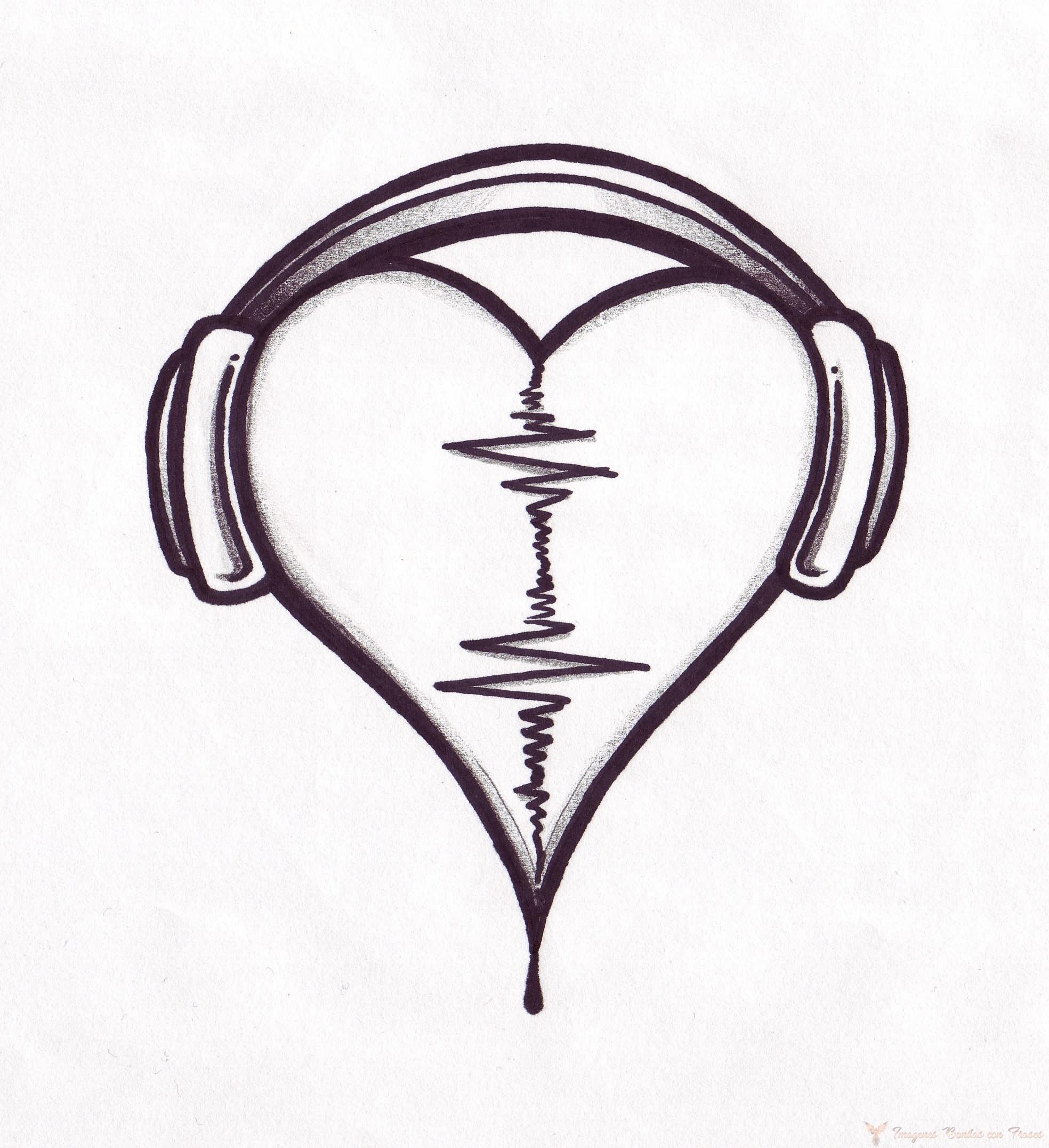 dibujos de corazones bonitos y fáciles