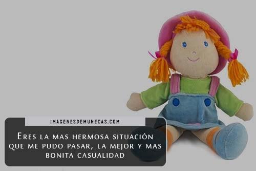 muñecas con palabras de amor