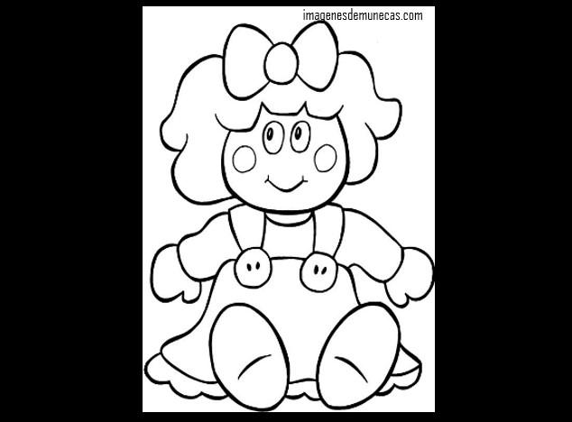 Muñecas para dibujar bonitas