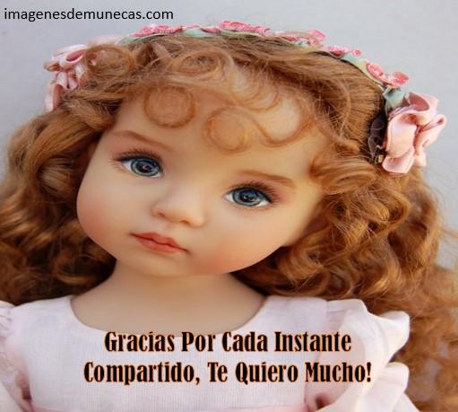 Imágenes de muñecas con frases bonitas