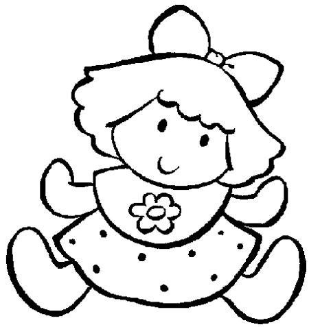 Imágenes de muñecas para dibujar