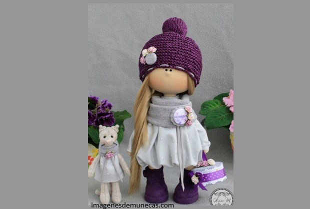 Muñecas de trapo muy bonitas