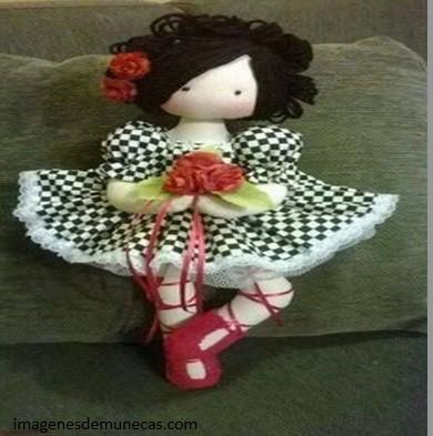 muñecas de trapo bonitas