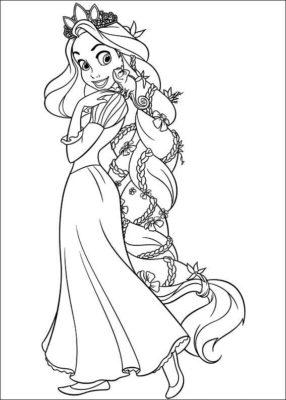 Dibujos De Muñecas Bonitas cabello