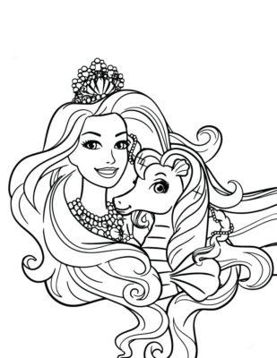 Dibujos De Muñecas Bonitas poni
