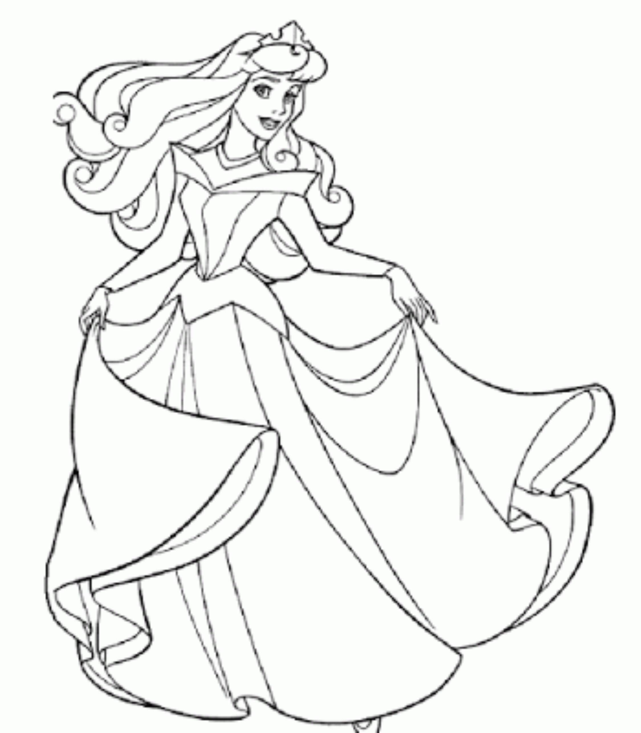 Dibujos Para Colorear De Munecas Gratis Para Ninas