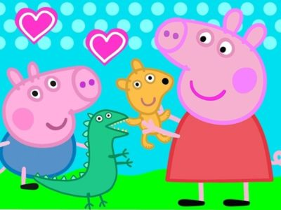 Dibujos Peppa Pig Para Imprimir y hermano