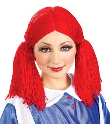 Imágenes De Maquillaje De Muñeca rojo