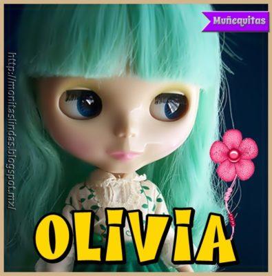 Imágenes De Muñecas Con Nombres olivia