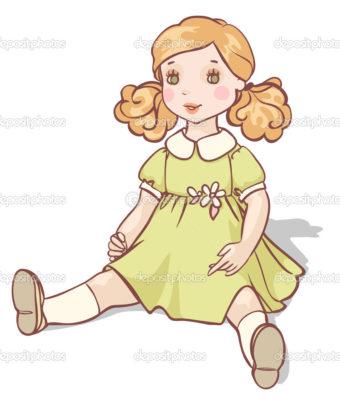Imágenes De Muñecas De Caricaturas vestido