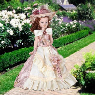 imagenes de muñecas de porcelana vestido