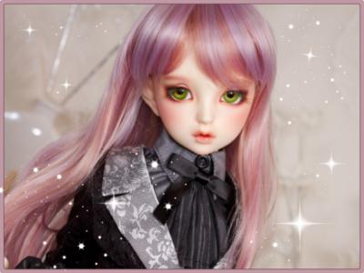 imagenes de muñecas hermosas rosa
