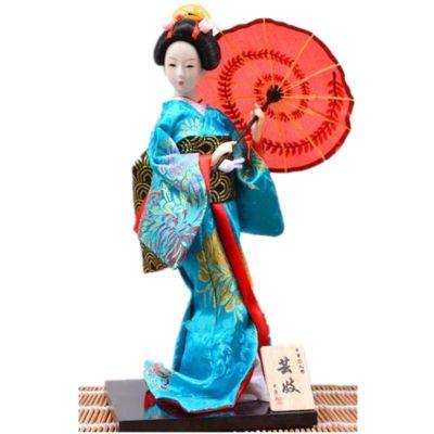 imagenes de muñecas japonesas sombrilla
