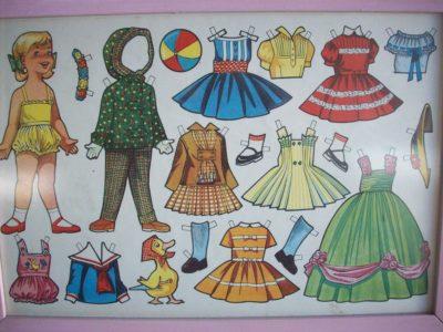 imagenes de muñecas para vestir nena