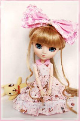 imagenes de muñecas tiernas rosa