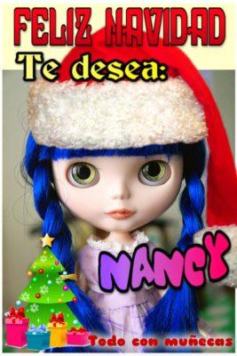 imagenes de muñequitas con frases navidad