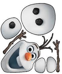 Imágenes de un muñeco de nieve armar