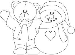 Muñecos de nieve para dibujar y regalar