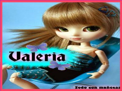 imágenes de muñecas con nombres valeria