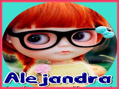 imagenes de muñecas con nombres de mujeres alejandra