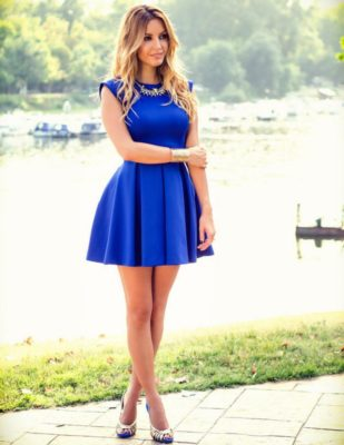 imagenes de vestidos elegantes cortos