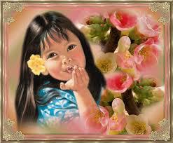 imagenes de muñequitas enviando besos para descargar