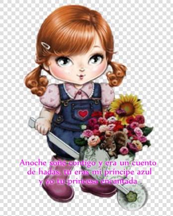 Imágenes De Muñecas Con Mensajes De Amor Frases Del Amor
